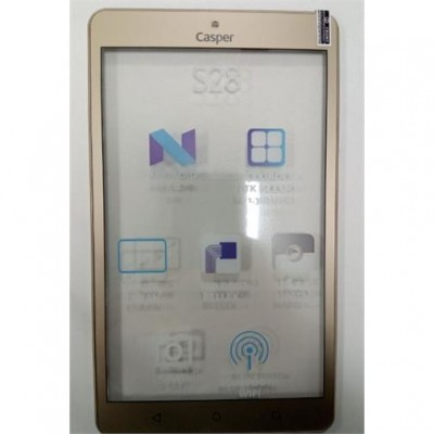 Casper  S28 FRONT COVER GOLD TYPE 1